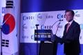 Moon au forum d'affaires Corée-Inde