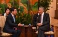 Maire de Séoul-PM singapourien