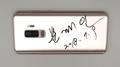 文在寅亲笔签名手机