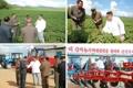 Kim Jong-un inspecte une ferme à Samjiyon