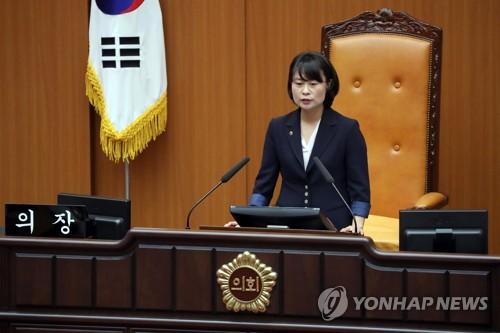제8대 부산시의회 개원…박인영 신임 의장 선출(종합)