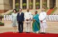 印度总统欢迎文在寅