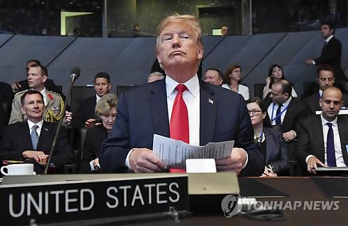 트럼프, 나토 회원국에 GDP 4% 국방비 요구…당초 목표의 2배