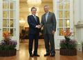 Moon et PM singapourien