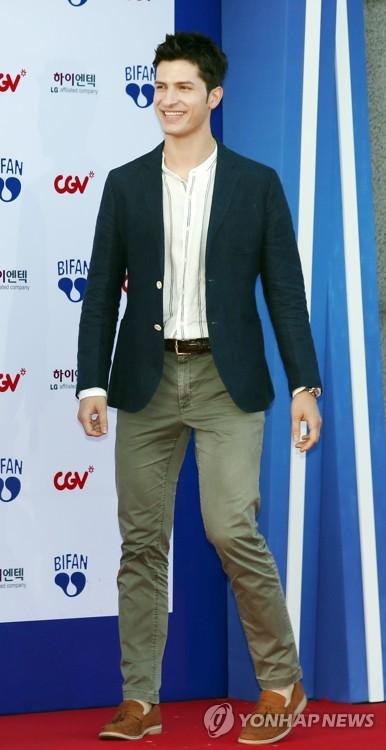 TV personality Alberto Mondi at BIFAN opening