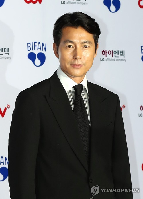 Actor Jung Woo-sung at BIFAN opening