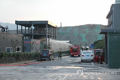 中 쓰촨성 화학공장서 폭발사고…19명 사망, 12명 부상