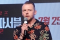 British actor Simon Pegg in Seoul