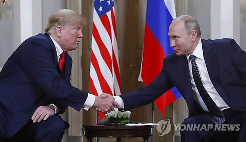 트럼프·푸틴, 2시간여 단독회담…당초 예정보다 30분 길어져