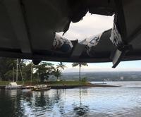 하와이 '용암폭탄' 관광보트 위로…관광객 23명 부상