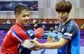 '우리는 하나' 응원 속 남북 첫 대결… 코리아오픈 국제탁구대회 개막