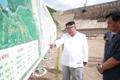 N. Korean leader at hydropower plant