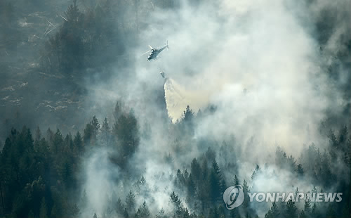 역대 최악 산불 스웨덴서 환경문제 핵심 총선 이슈 부상
