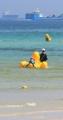 済州の海を満喫