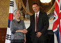 Foreign ministers of S. Korea, Britain meet in London