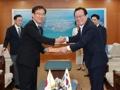 Japan's consul general in Busan visits Ulsan mayor