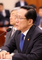 Defense chief Song at parliamentary hearing