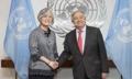 FM meets U.N. chief