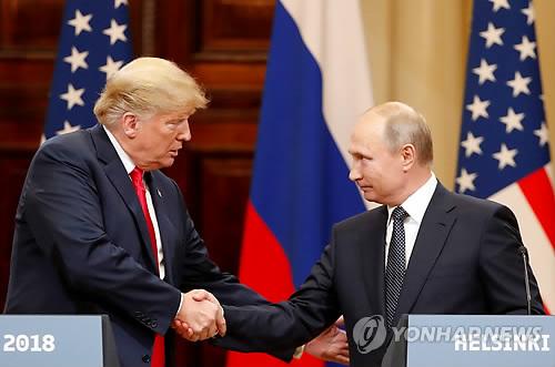트럼프, 푸틴에 친서…관계강화 중요성 강조