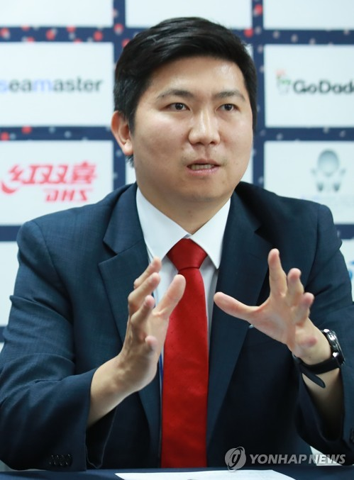Olympic champion Ryu Seung-min to run for top S. Korean table tennis post