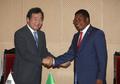 PM coréen et tanzanien
