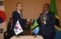 Accord Corée-Tanzanie