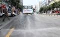 韓国一暑い都市で散水