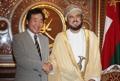 Avec le vice-PM omanais