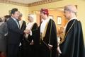 Avec des ministres omanais liés à l'économie