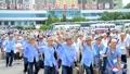Anciens combattants nord-coréens à Pyongyang