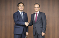 Ministres Corée-Allemagne