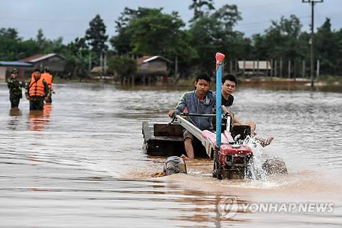 라오스 댐 사고로 27명 사망·131명 실종