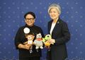 Chefs des diplomaties coréenne et indonésienne