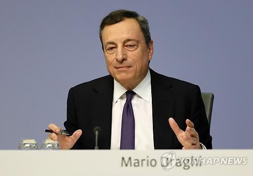 "ECB 드라기 ""하방 위험…성장 지속 믿지만 우려도 증가"""