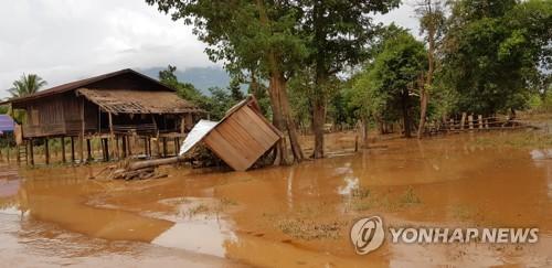 메콩강 유역 동남아 국가들 '물난리'…곳곳 폭우로 사망자 속출