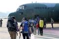 韓国政府の救援隊がラオスへ