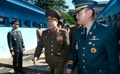 朝鲜将领率团参会