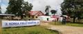 Clinique provisoire au Laos