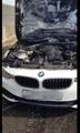 Fuego en un BMW