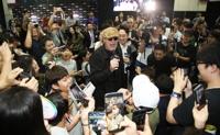 3일 오전 서울 삼성동 코엑스 홀C 어메이징 스테이지에서 코믹콘 서울 2018′ 공식 오프닝이 열렸다. 이날 오프닝 행사에는 '가디언즈 오브 갤럭시' 시리즈에서 '욘두'로 분했던 마이클 루커가 참석했다.