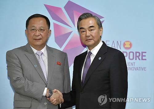 ARF참석 北관계자 中과 조선반도 평화보장 협동강화 토의