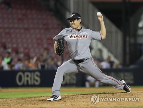 프로야구 한화 김경태·김현민, 1군 훈련 합류