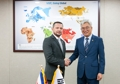 Avec le ministre des Sciences du Costa Rica