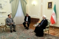 Chef de la diplomatie nord-coréenne et président iranien