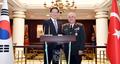 Avec le chef d'état-major des armées de la Turquie