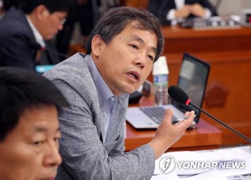 질의하는 김현권 의원