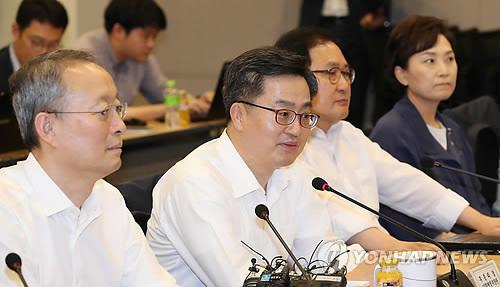 인사말하는 김동연 경제부총리