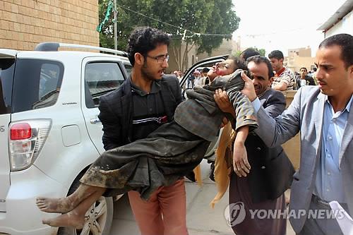 사우디, 예멘서 통학버스 폭격 50여명 사망…대부분 어린이(종합)