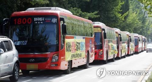 """""""박남춘 물러나라"""" 외치던 버스업계…인천시 강수에 후퇴"""