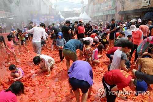 横城番茄节开幕